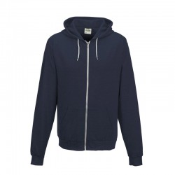 Lightweight Heather Zip Hoodie